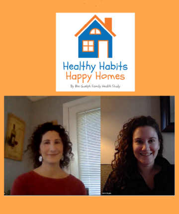 hosts of the healthy habits happy homes podcast