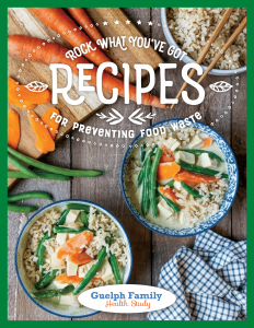 Rock What You've Got Cookbook - Cover Photo