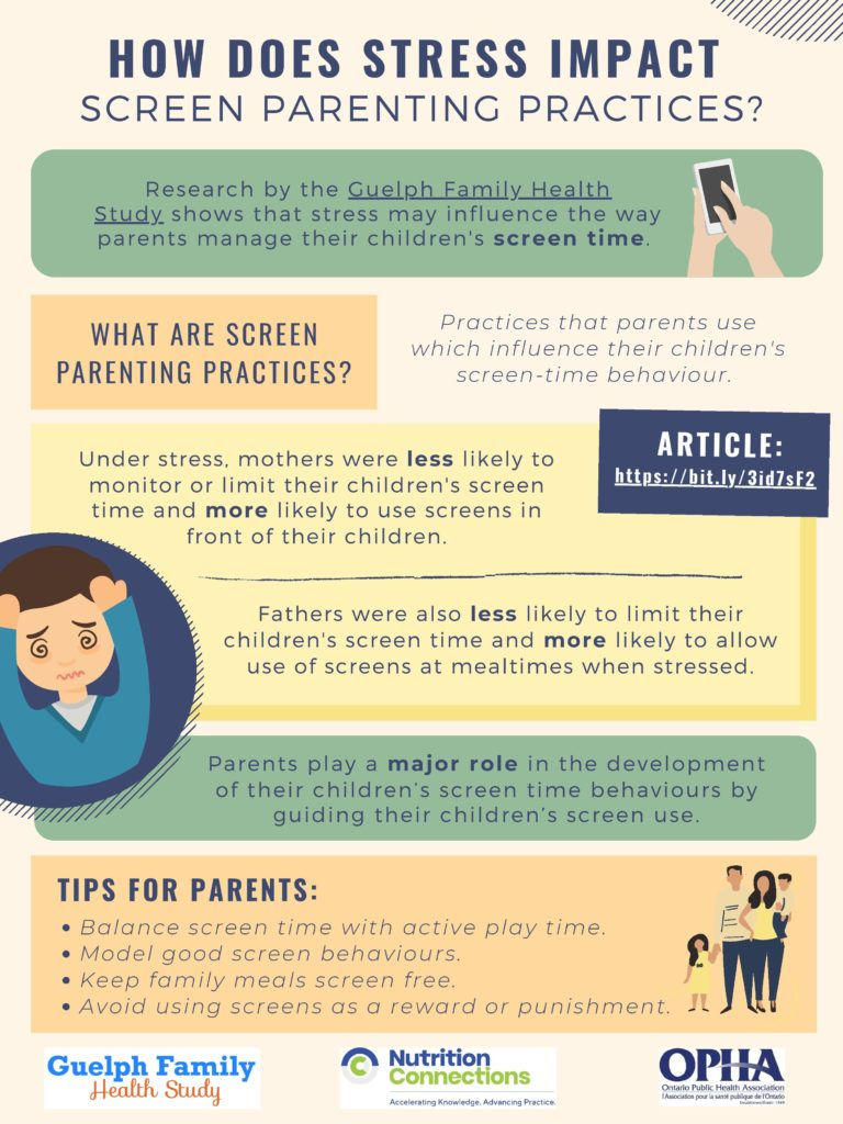 screen time and stress