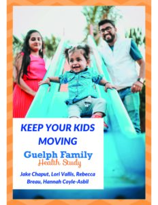 Cover of Keep Your Kids Moving booklet